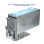 "GF-50 double stack boxed 1/2"" shaft 240V AC. * Available upon request."