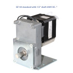 "GF-50 standard with 1/2"" shaft 240V AC. *"