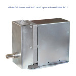 "GF-50 DG boxed with 1/2"" shaft 240V AC. *"